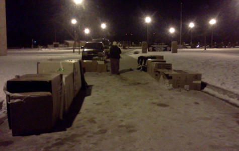 Interact suffers through cold for homeless
