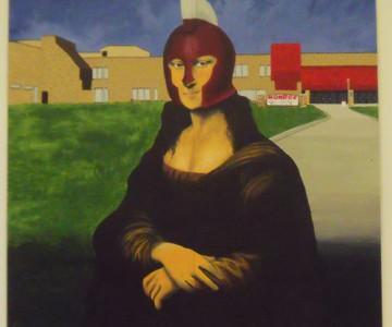 Art Club replicates Mona Lisa