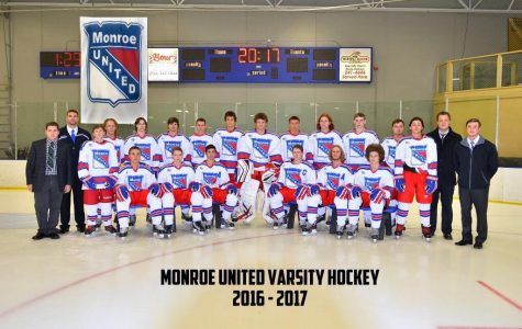 Monroe United hockey team discuss ongoing season