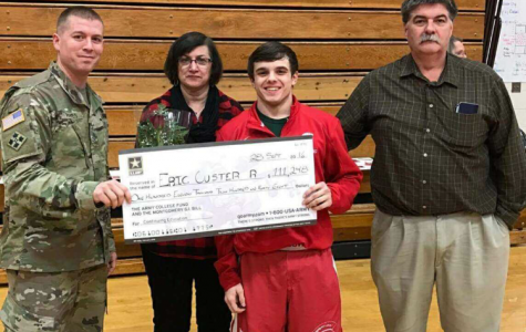 Custer earns full ride for Military service