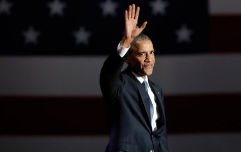 Obama says farewell to his presidency
