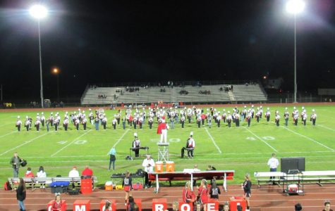 Marching band wraps up season with Senior Show