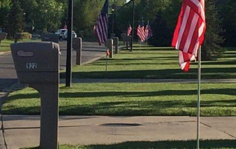 AIM Program starts flag fundraiser