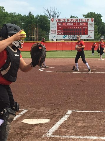 Monroe High baseball and softball teams play hard at districts