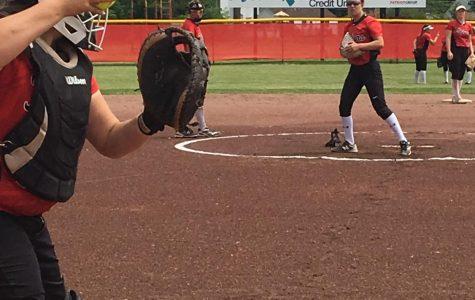 Monroe High baseball and softball teams play hard at districts
